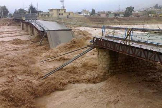سیل راه دسترسی 14 روستای تنکابن را مسدود کرد