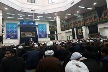 برگزاری مراسم عزاداری سالروز شهادت حضرت زهرا(س) در دفتر رهبر انقلاب درقم