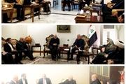 دیدارهای ظریف با سه شخصیت سیاسی عراق