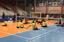 تیم زارچ حریفان خود را در لیگ والیبال نشسته کشور شناخت