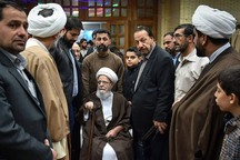 فارس شنبه در سوگ درگذشت آیت الله حدائق عزادار است