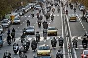 رییس پلیس راهور پایتخت: تخلف موتورسیکلت ها با دوربین ثبت و ضبط می شود