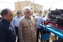 دریل تخلیه گلولای دانشگاه آزاد قزوین در پلدختر به کارگیری شد