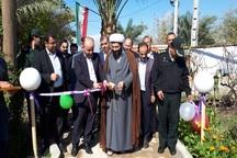 باغ تفریحی گردشگری گلشن در بخش مرکزی گتوند بهره برداری شد