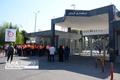تجمع کارکنان راه و شهرسازی قزوین مقابل استانداری