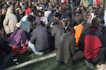 18 سارق خیابانی در حاشیه شهر مشهد دستگیر شدند