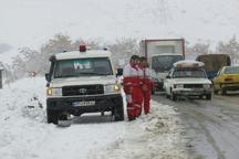 رها سازی سه هزار و 659 گرفتار در برف و کولاک در قزوین