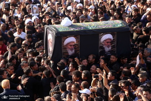 مراسم تشییع آیت الله العظمی محقق کابلی در قم