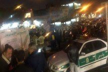 نشست زمین در مولوی تهران مسیر اتوبوس های تندرو را تغییر داد
