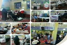 اجرای طرح کاروان سلامت با ویزیت رایگان برای حدود ۶۰۰ نفر در منطقه حصار