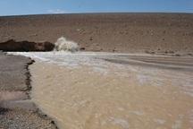 10 بند خاکی در اردستان آبگیری شد