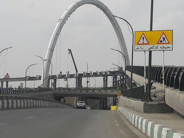 شهردار زنجان: پل سیدالشهدا (ع) در زمان مقرر به بهره برداری می رسد
