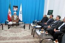 دیدار رئیس هیئتمدیره و مدیرعامل بانک توسعه تعاون با نماینده ولیفقیه استان گیلان