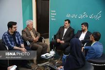 بازدید مدیرکل فرهنگ و ارشاد اسلامی خراسان رضوی از ایسنا