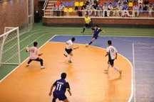 پیروزی تیم ملی حفاری در لیگ برتر فوتسال