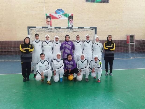 تیم فوتسال بانوان  پارس آرا شیراز، لیگ برتر را پیروزی آغاز کرد
