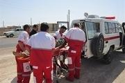امدادگران قزوینی در هفت عملیات شرکت کردند
