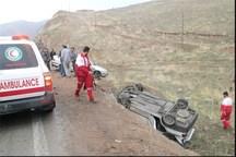 تصادف در محور کنجانچم مهران یک کشته برجا گذاشت