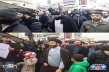 عکس/ حضور فرزندان رهبر انقلاب در راهپیمایی 22 بهمن تهران