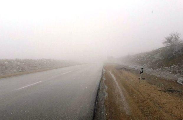 مناطق کوهستانی سمنان برفی و مه آلود می شود