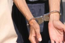 سارقان ریل قطار در صحنه دستگیر شدند