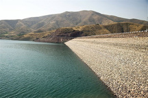 آب سد تهم 14 درصد کاهش یافت