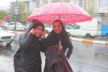 بارش بیش از 40 میلیمتر باران در خلخال