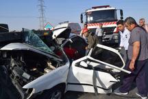 تصادف در جاده نیشابور - سبزوار هفت مصدوم به جا گذاشت