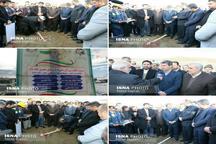 افتتاح وکلنگ زنی ۱۴ طرح عمرانی ، خدماتی ، بهداشتی با حضور استاندار آذربایجان غربی درشهرستان سلماس
