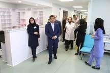 بخش های جدید بیمارستان فرقانی قم به بهره برداری رسید