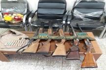 دستگیری چهار شکارچی متخلف در تالش