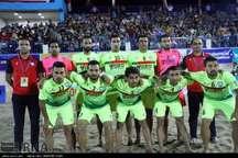 فوتبال ساحلی جهان  گلساپوش ایران در یک قدمی قهرمانی