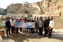 بازدید گروه ایسکارسا از آثار تاریخی خوزستان