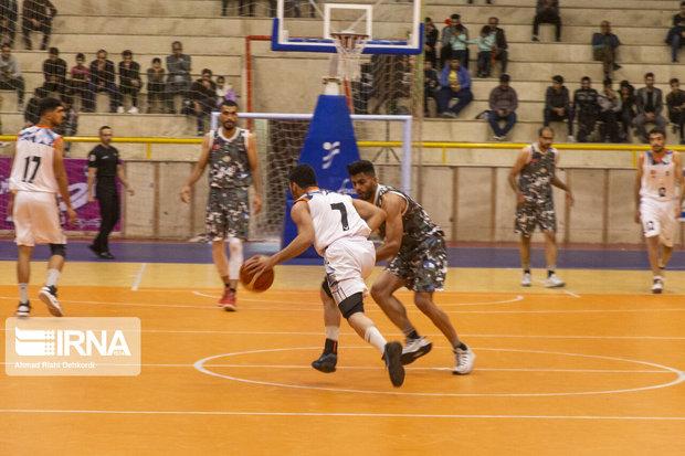 تیم لیگ برتری بسکتبال قزوین در خانه شکست خورد