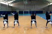 حضور تیم طناب زنی بانوان در مسابقات قهرمانی جهان در چین