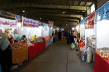 نمایشگاه فروش بهاره در گنبدکاووس گشایش یافت