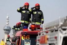 فعالیت ایستگاه های نوروزی آتش نشانی شهر تهران آغاز شد