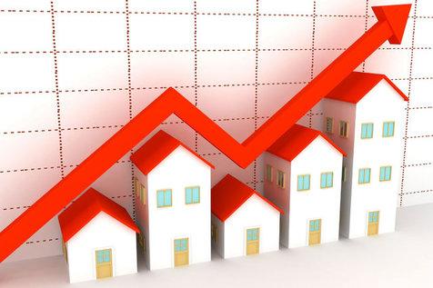 نمودار تغییر قیمت خانه و اجاره بها