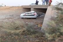2 واژگونی خودرو در خوزستان 6 مصدوم برجای گذاشت