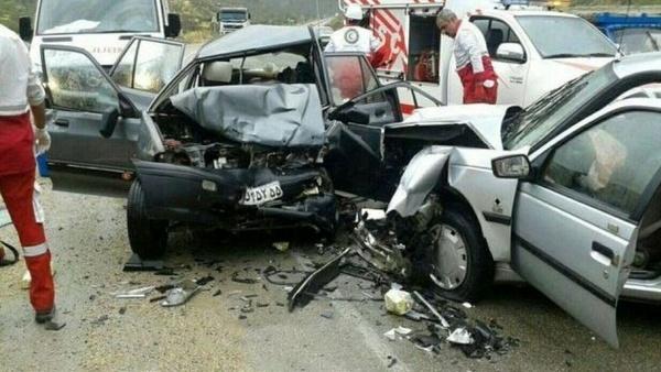 افزایش 45 درصدی فوتی ناشی از تصادفات رانندگی در آذر ماه