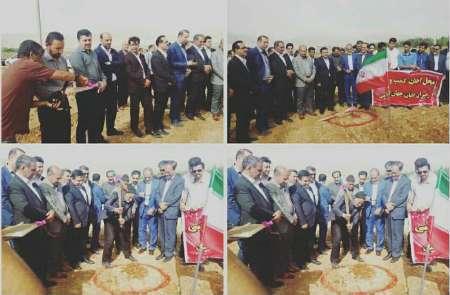 عملیات ساخت کمپ رهبران جوان در سپیدان آغاز شد
