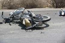 جوان آران و بیدگلی در تصادف مینی بوس و موتورسیکلت جان باخت