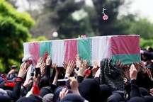 پیکر 2 شهید نیروی انتظامی در بندرعباس تشییع شد