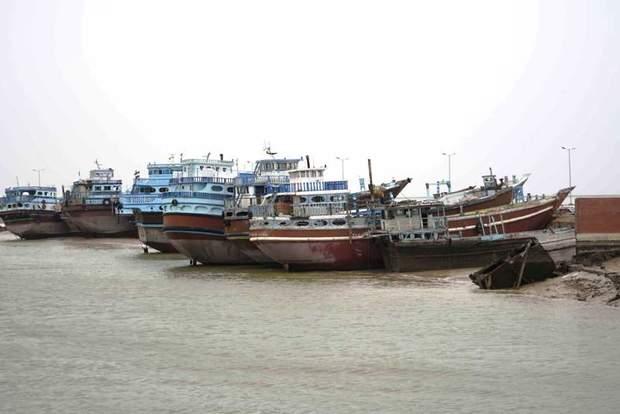 شناورهای صیادی در آبادان به ساحل فراخوانده شدند