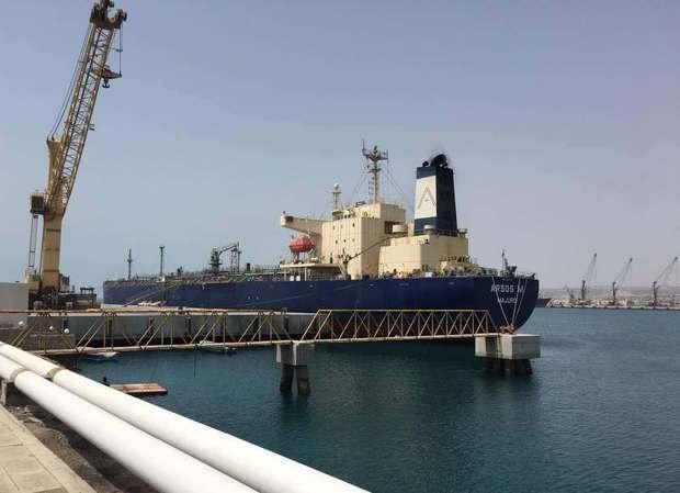 نخستین کشتی محموله دام زنده کشور وارد بندر چابهار شد