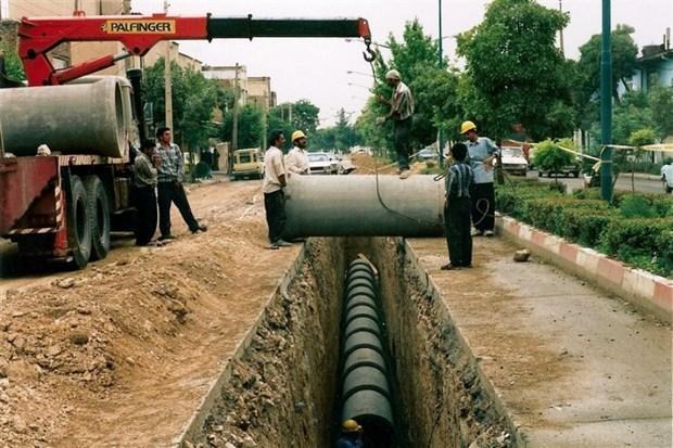 راه اندازی فاضلاب در روستاهای استان فارس آغاز شد