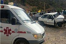 حادثه رانندگی در جاده الشتر- فیروزآباد هفت مصدوم داشت