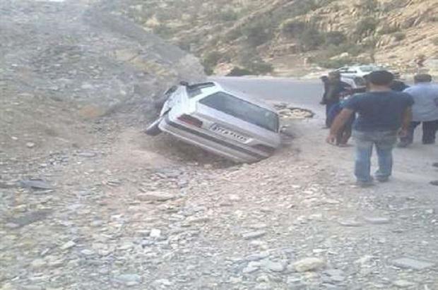 پیچ های خطرناک جاده یاسوج به دهدشت اصلاح می شود