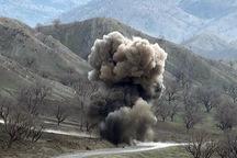 یک نفر بر اثر انفجار مین در مریوان زخمی شد