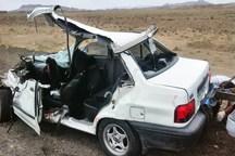 تصادفات در محورهای فرعی خراسان شمالی 4 مجروح داشت